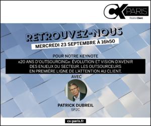Vidéo : 2O ans d'Outsourcing – Interview au #CXParis
