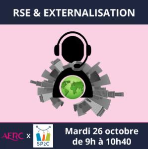 26 octobre : Evénement AFRC x SP2C – RSE & Externalisation
